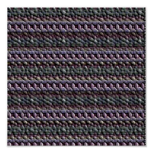 Unusual trendy pattern print