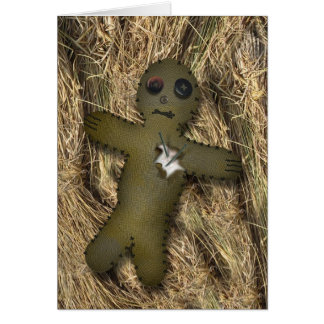 Unvalentine Voodoo Doll Card