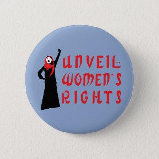 Unveil Muslim Women's Rights 2 Inch Round Button