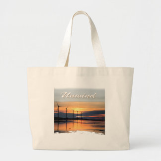 Unwind Large Tote Bag
