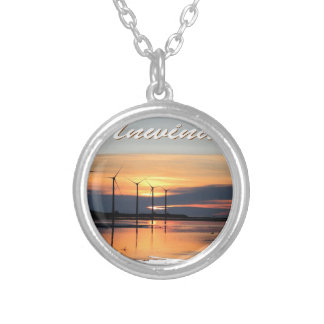 Unwind Silver Plated Necklace