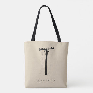 Unwired and Unplugged Tote Bag