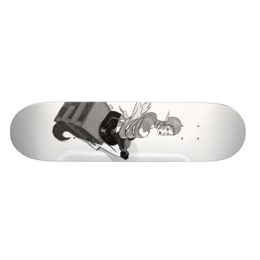 Unwrapped Skateboard