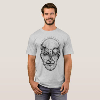 UnZip The Alien. T-Shirt