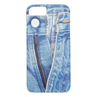 Unzipped blue jeans iPhone 7 case
