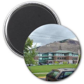 Uofm University Montana Magnet