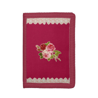 uoretsuto whose three roses are red trifold wallets