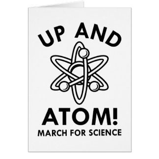 Up And Atom! Card