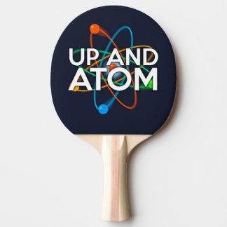 UP AND ATOM PING PONG PADDLE