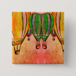 Up and Away 2 Inch Square Button