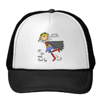 Up and Away Girl Hero Trucker Hat