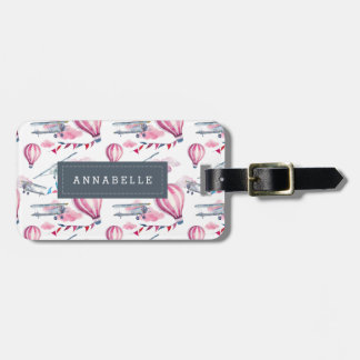 Up and Away Personalized Luggage Tag