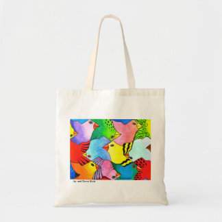 Up and Down Birds Tote Bag