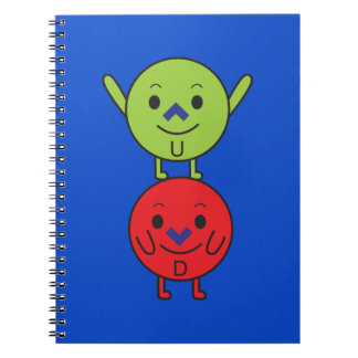 Up and Down notebook
