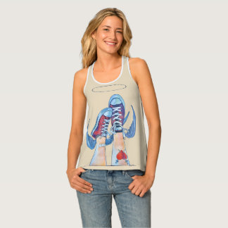 up and down?! tank top