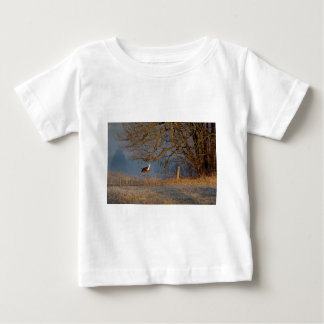 Up And Over, Whitetail deer Baby T-Shirt