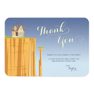 UP Birthday | Thank You Card