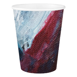 Up close Flag Cup Paper Cup