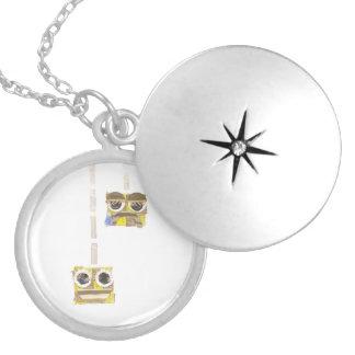 Up-Down Yoyo Locket Necklace
