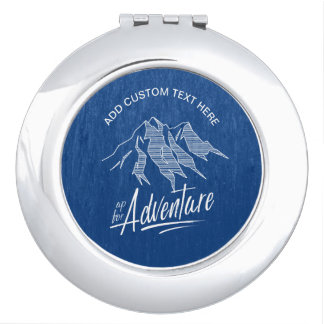 Up For Adventure Mountains ID358 Makeup Mirror