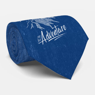 Up For Adventure Mountains ID358 Tie
