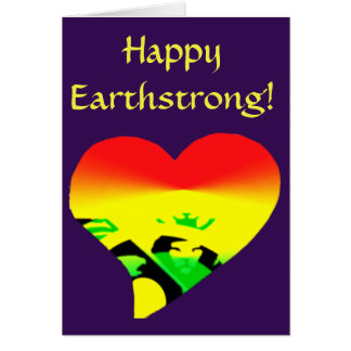 Up! Happy Earthstrong Card