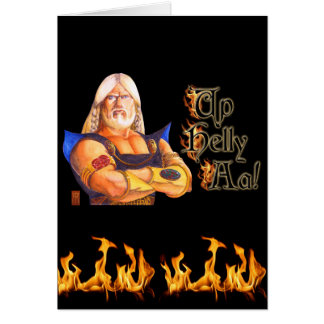 Up Helly Aa! Card