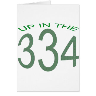 UP IN 334 (GREEN) CARD
