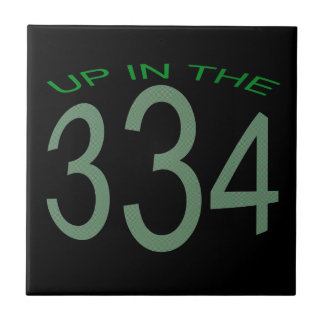 UP IN 334 (GREEN) CERAMIC TILES