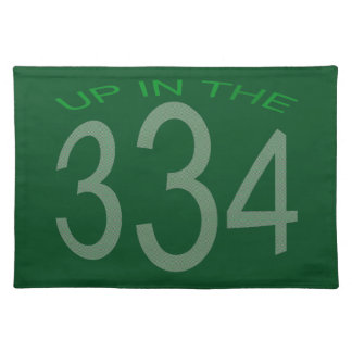 UP IN 334 (GREEN) PLACEMAT