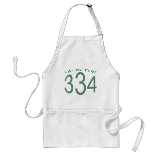 UP IN 334 (GREEN) STANDARD APRON
