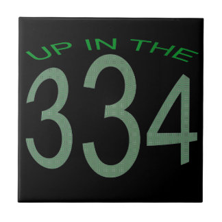 UP IN 334 (GREEN) TILE