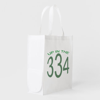 UP IN THE 334 REUSABLE GROCERY BAG