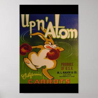 Up N Atom Poster