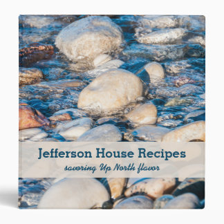 Up North Lake House Recipe Book Binders