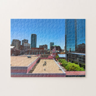 Up on a Roof Jigsaw Puzzle