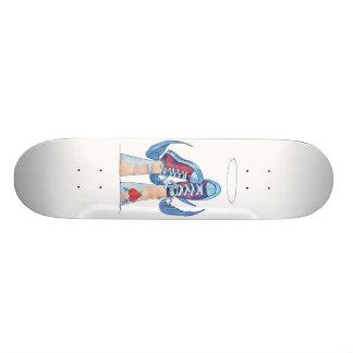 up or down?! skate board deck