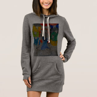 Up out the water Hoodie Dress