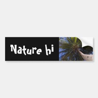 up the coconut tree bumper sticker