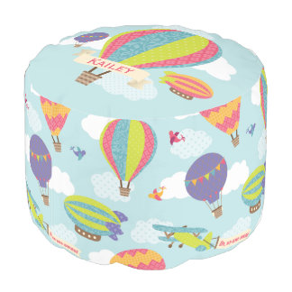 Up, Up and Away Pouf