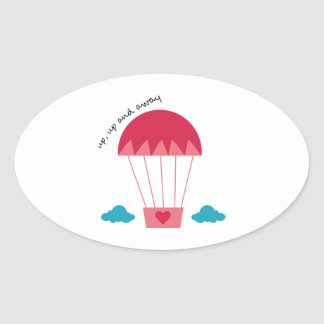 Up Up And Away Sticker