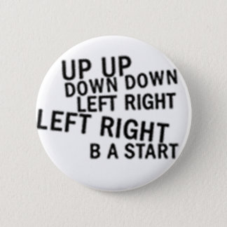 UP UP DOWN DOWN LEFT RIGHT LEFT RIGHT B A START 2 INCH ROUND BUTTON