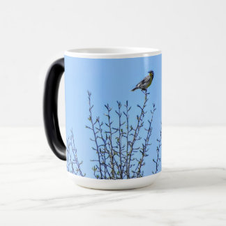 Up with the Meadow Larks Morphing Mug