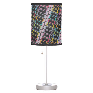 Upcycle Style Rainbow Pencils Pattern by CTP Desk Lamps