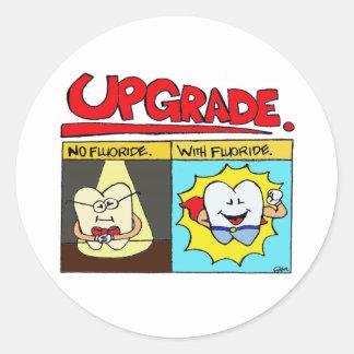 Upgrade Tooth Sticker
