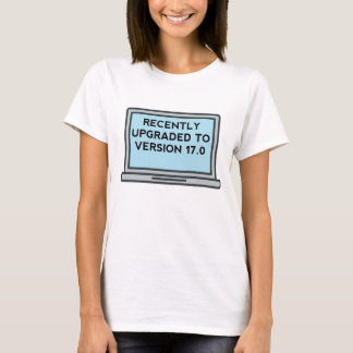 Upgraded To Version 17.0 17th Birthday T-Shirt