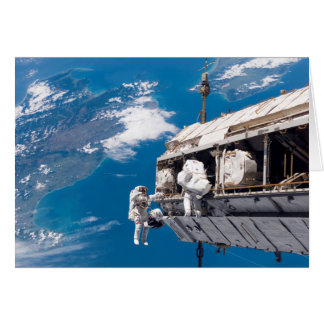 Upgrading the International Space Station Card