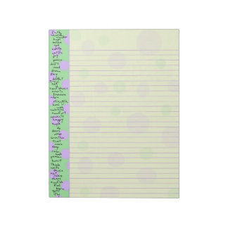 Uplifting Notepad