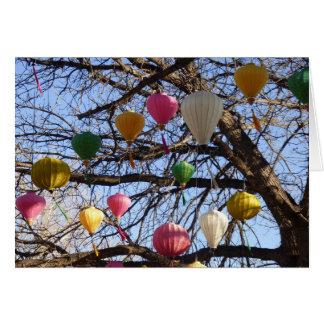 Uplifting Oriental Lanterns Card