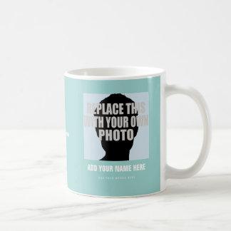 upload image (self picture), create photo coffee mug